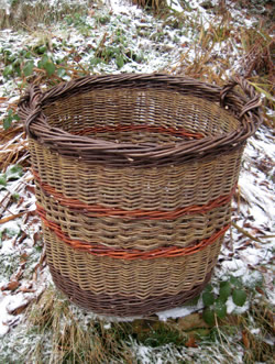willow log basket